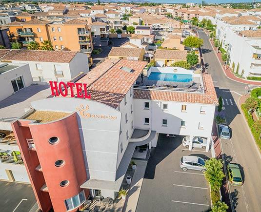 L'Hôtel Grand Cap en Agde
